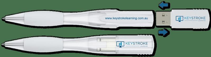 Keystroke Learning Participants Pen
